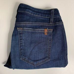 Joe's Jeans Size 27 Laurie Skinny Ankle Dark Wash